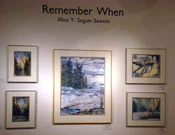 Traveling Art Exhibition - Alice Y. Sequin Sawicki